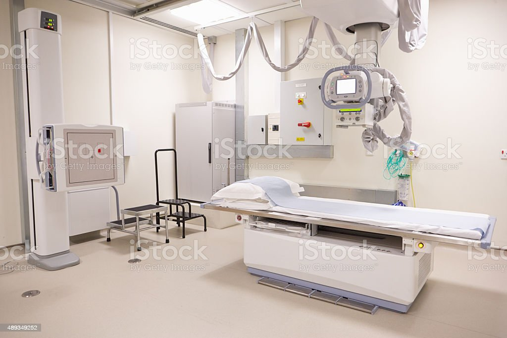 X Ray Department In Modern Hospital stock photo