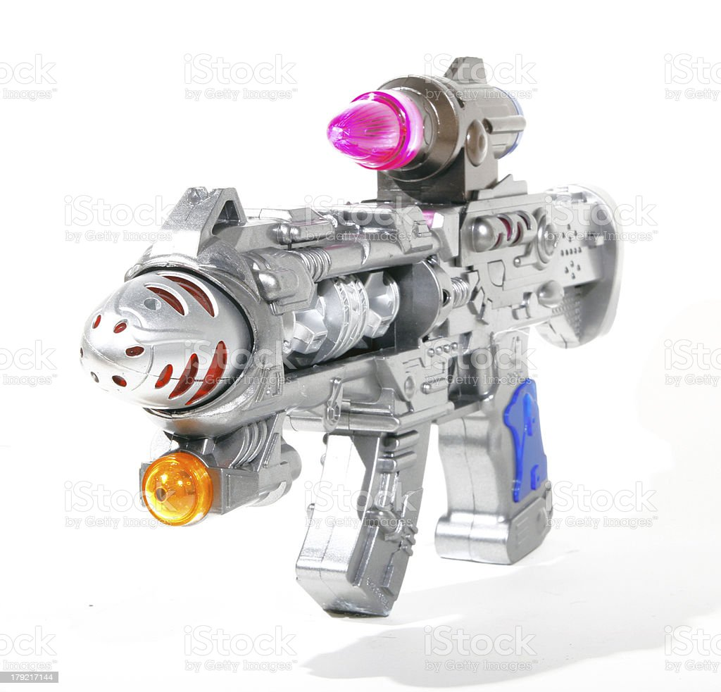 ray gun royalty-free stock photo