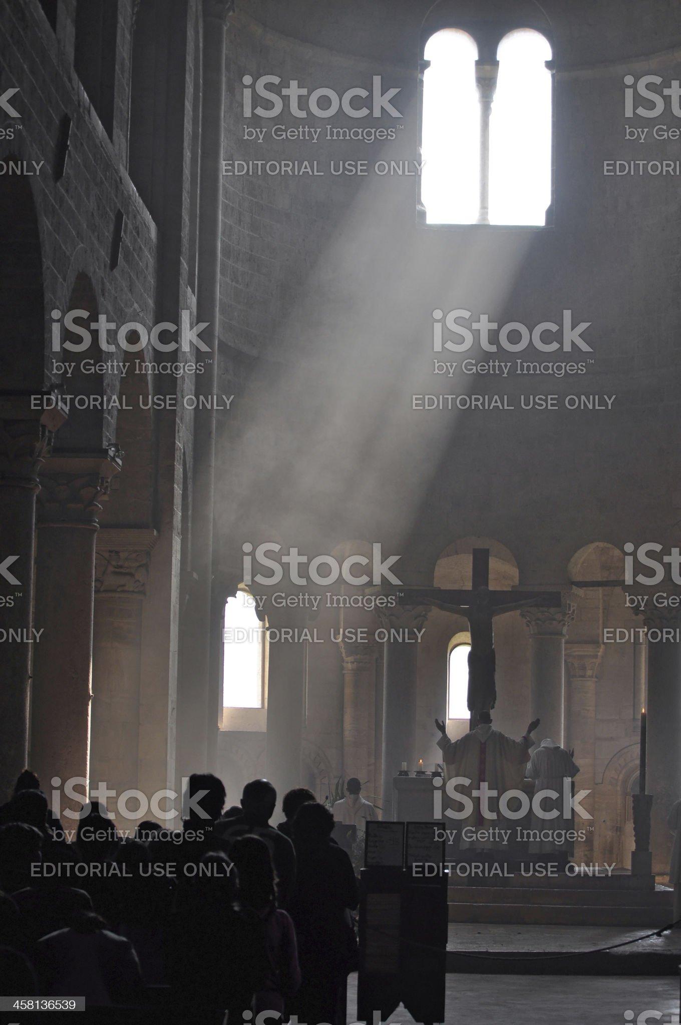 Ray of Hope royalty-free stock photo