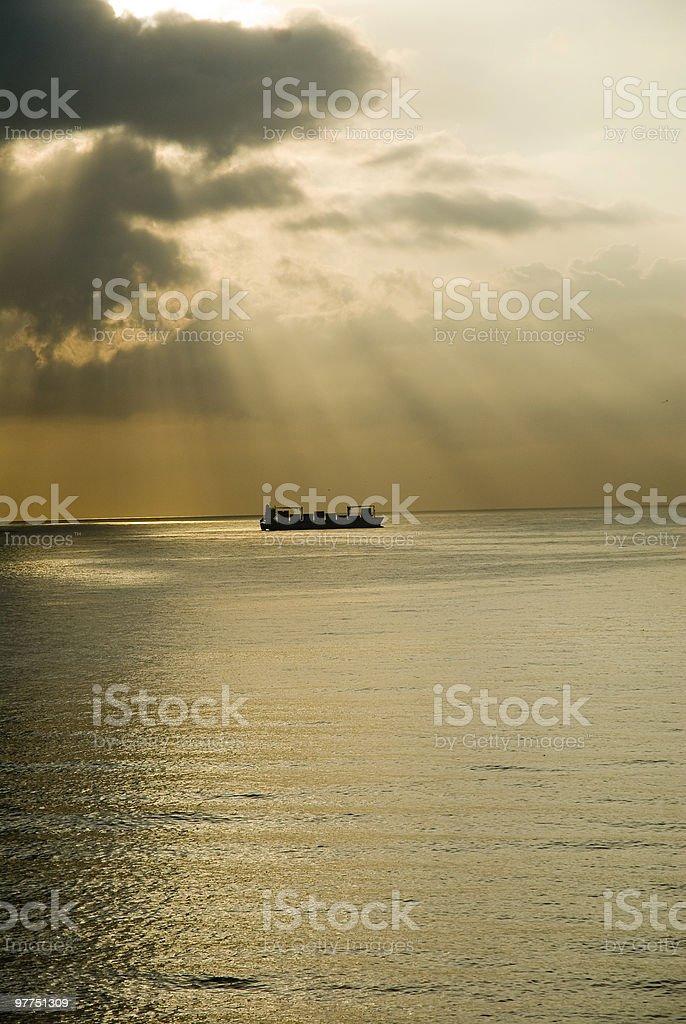 ray of light royalty-free stock photo