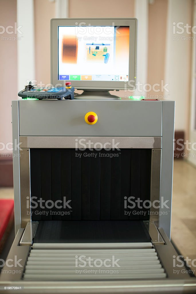X ray station stock photo