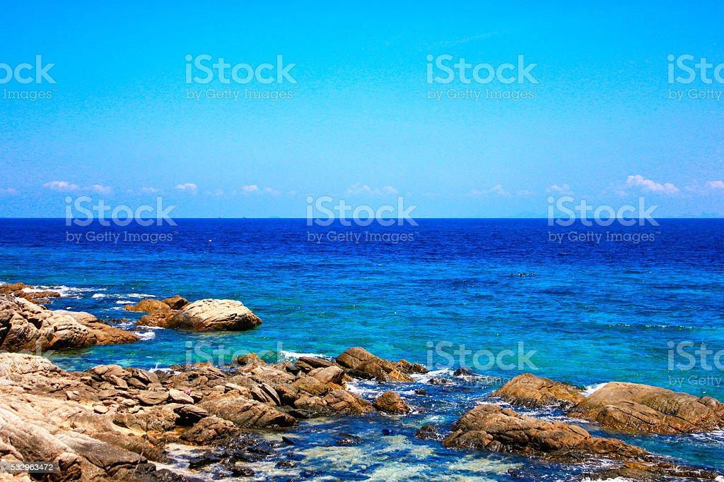 Raya Island stock photo