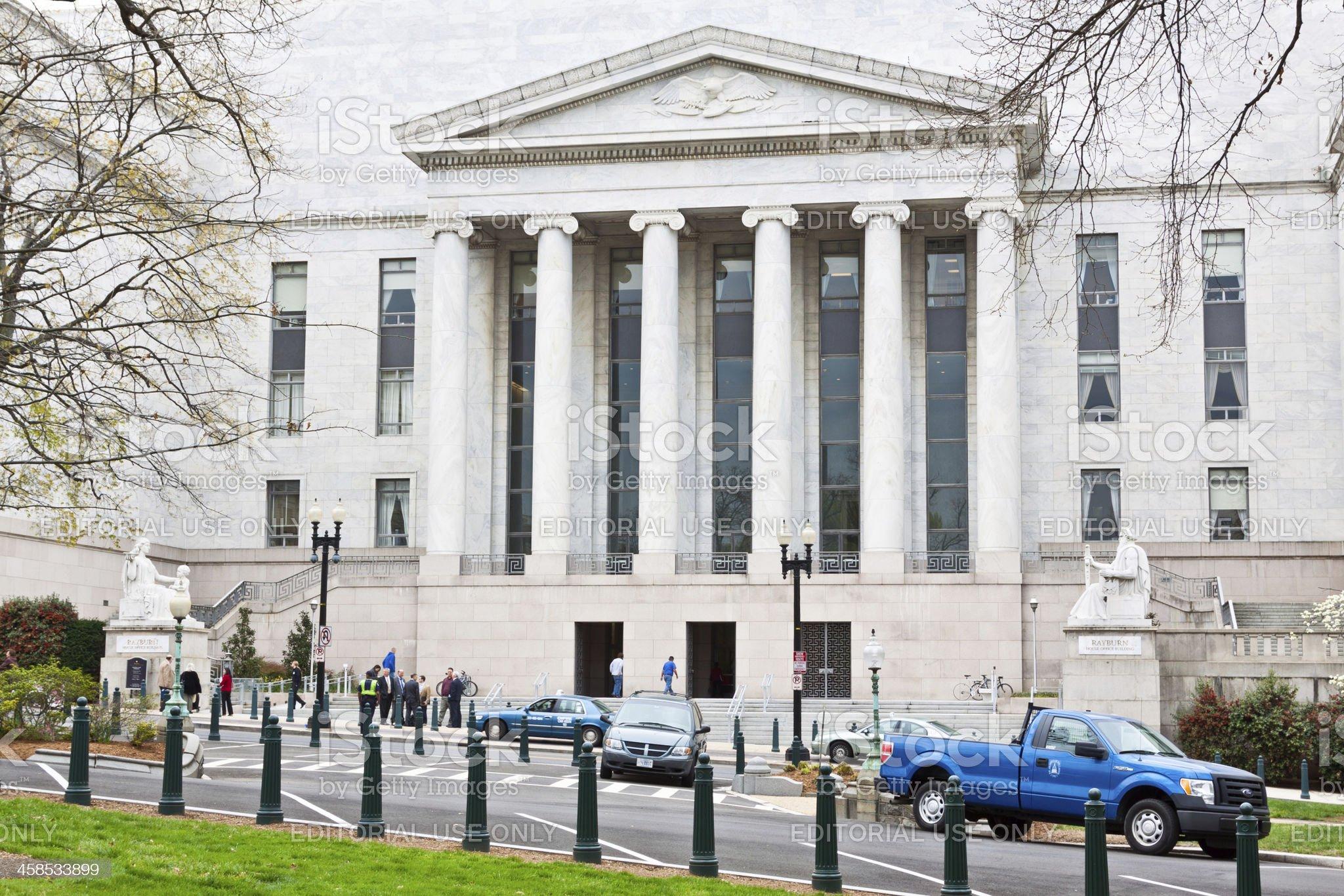 Rayburn House Ofiice Building, Washington DC. royalty-free stock photo