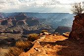Rays over Grand Canyon