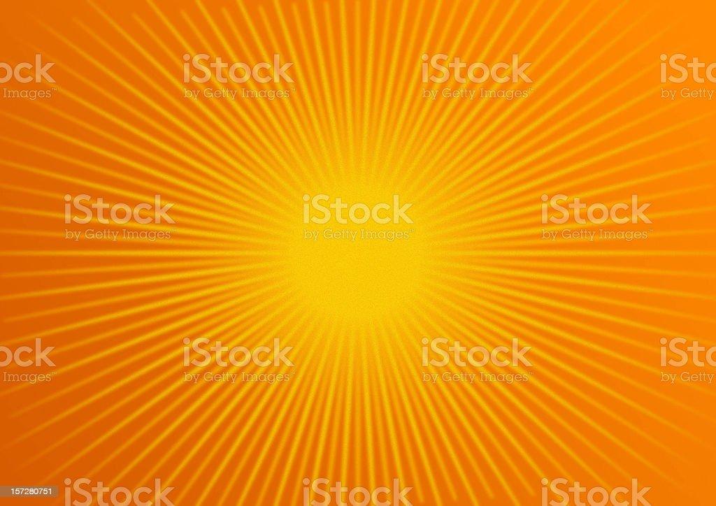 rays: tangerine stock photo