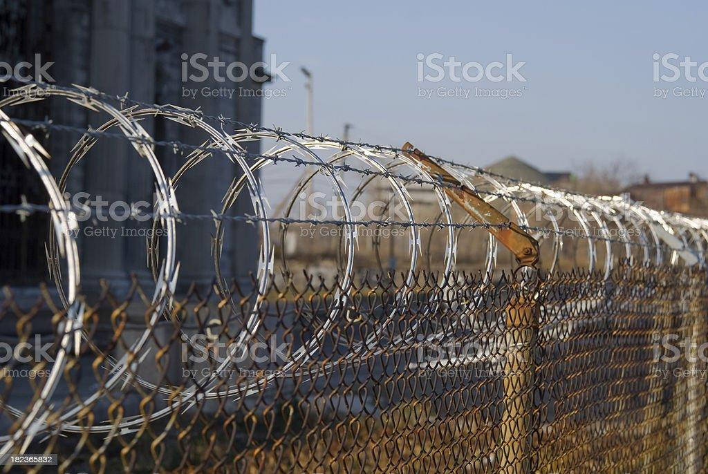 Razer Wire stock photo