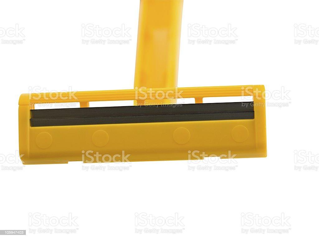 Maquinilla de afeitar foto de stock libre de derechos