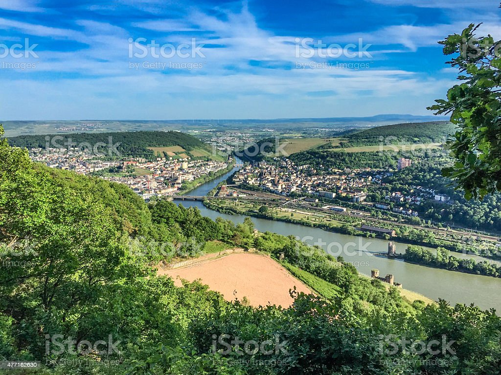 R?desheim stock photo