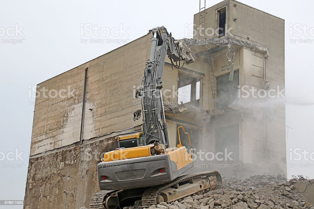 Reach Above the Rubble stock photo