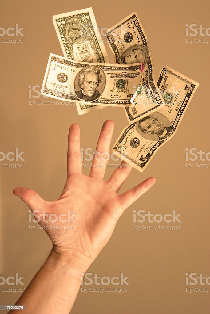 Reach for Success royalty-free stock photo