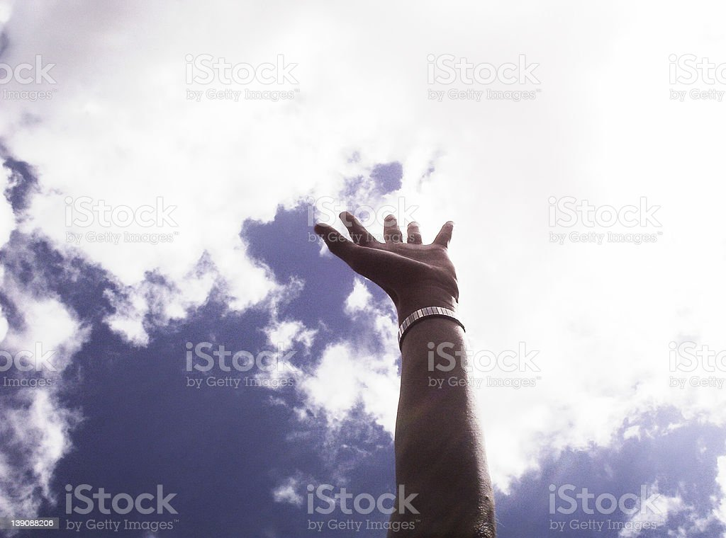 Reach for the skies royalty-free stock photo