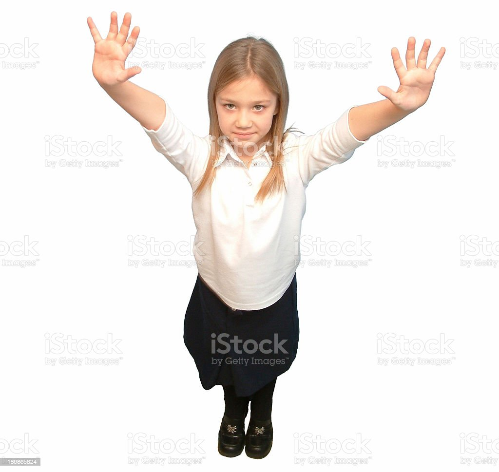 Reach for the sky royalty-free stock photo