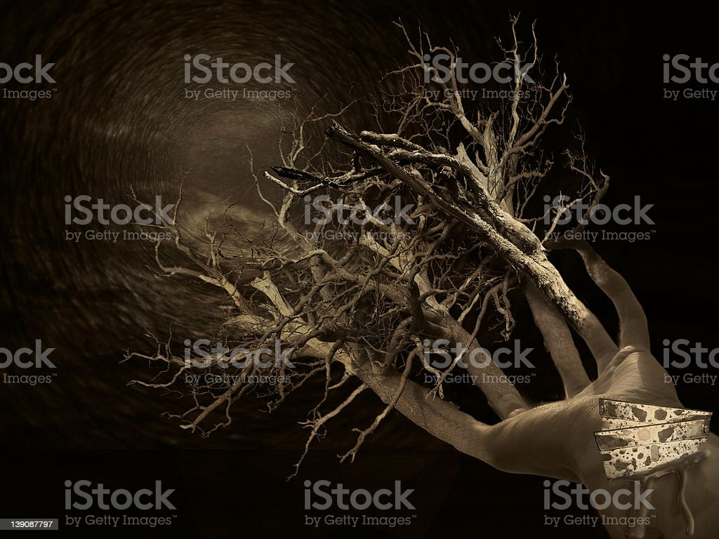 Reach Out! stock photo
