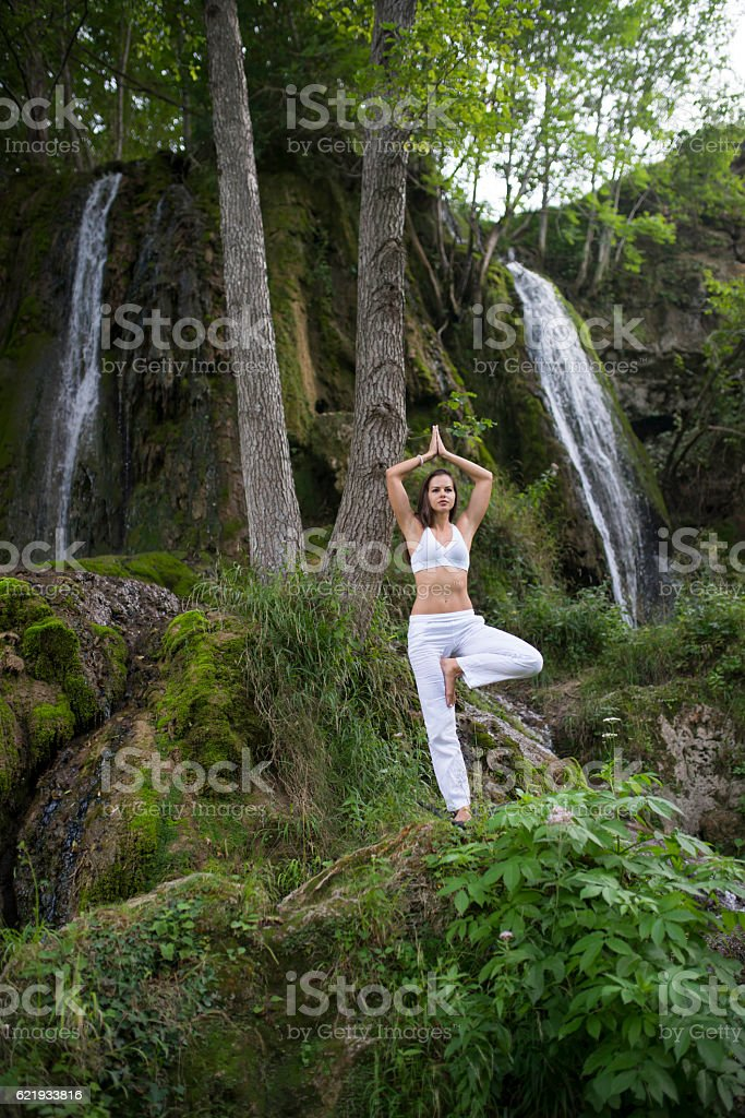 Reach the balance stock photo