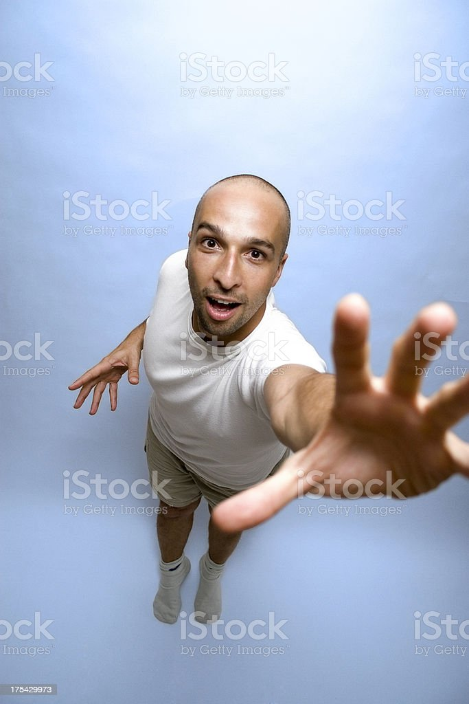 Reach your goal royalty-free stock photo