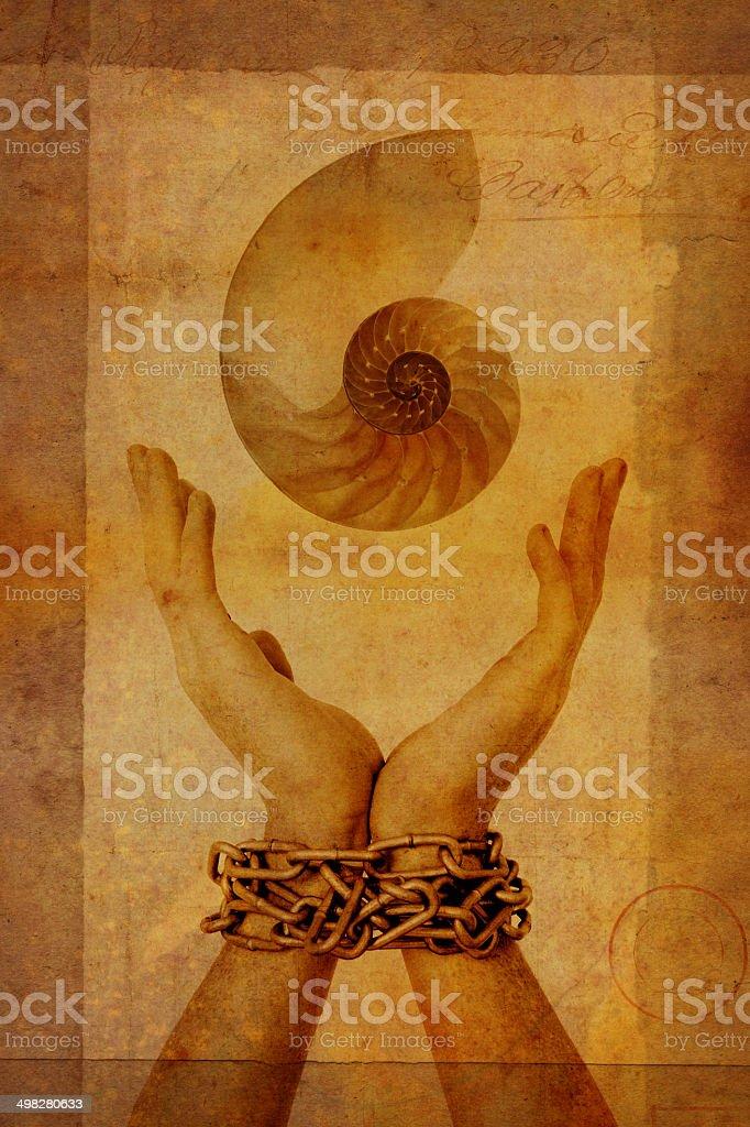 Reaching for Creativity stock photo