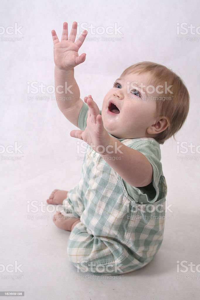 Reaching for the Stars royalty-free stock photo