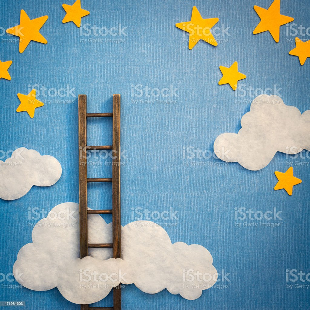 Reaching For The Stars stock photo