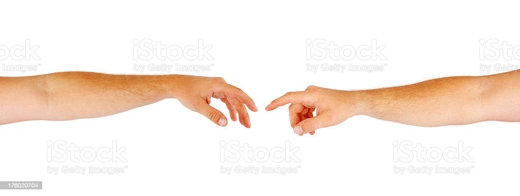 Reaching Out royalty-free stock photo