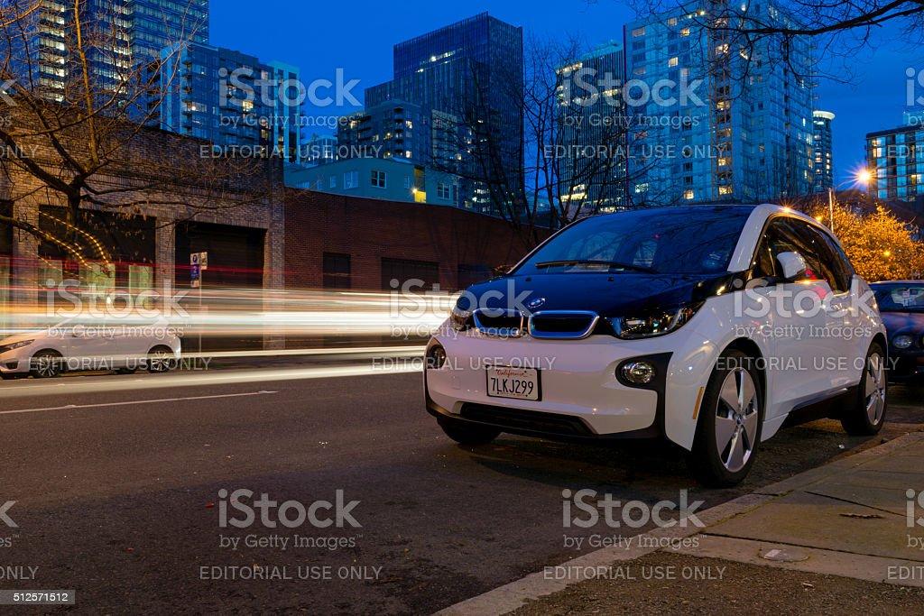 ReachNow Car Share stock photo