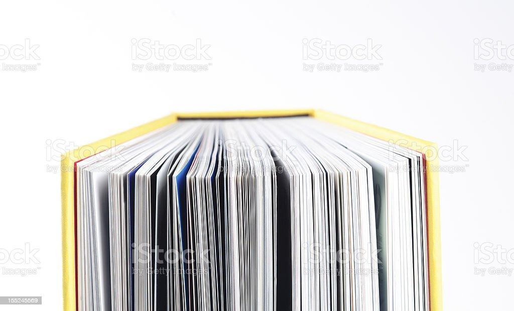 Read a book royalty-free stock photo
