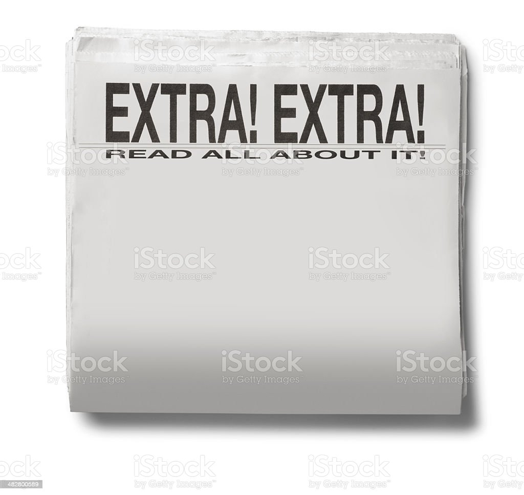Read All About It!!! royalty-free stock photo