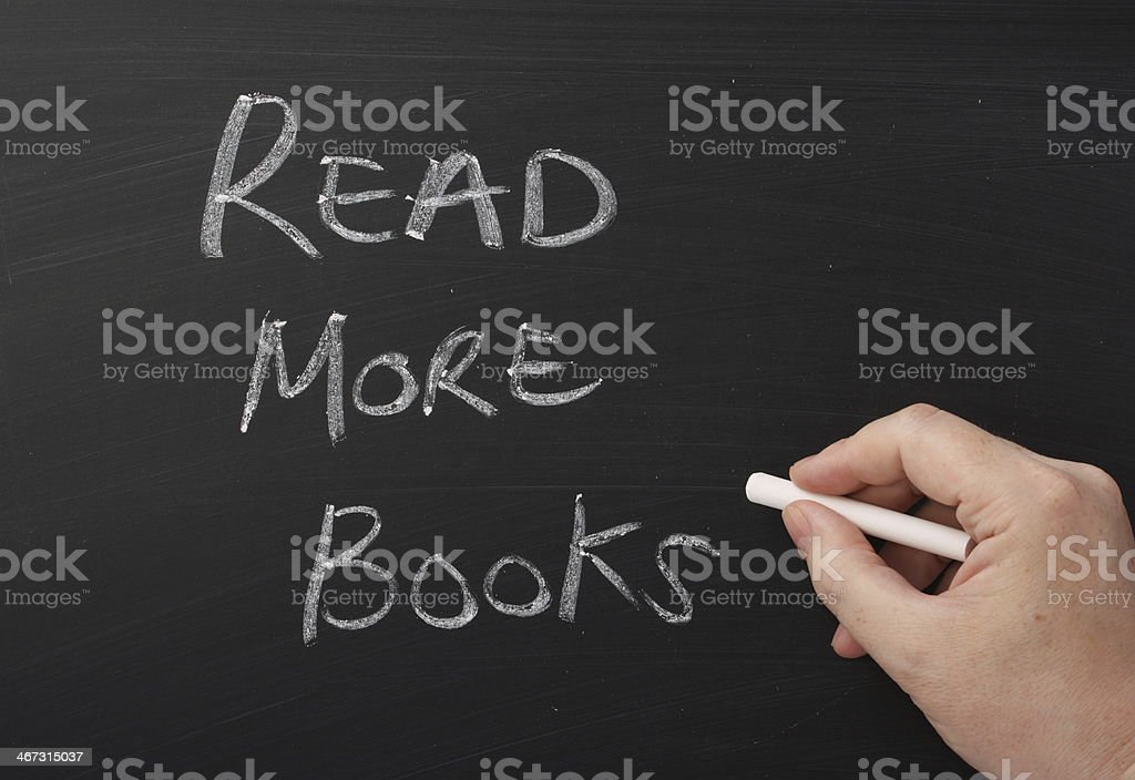 Read More Books royalty-free stock photo