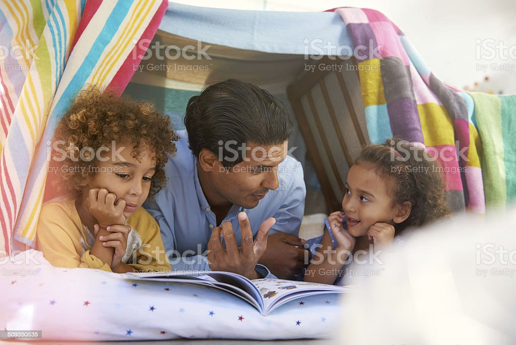 Read us another one stock photo