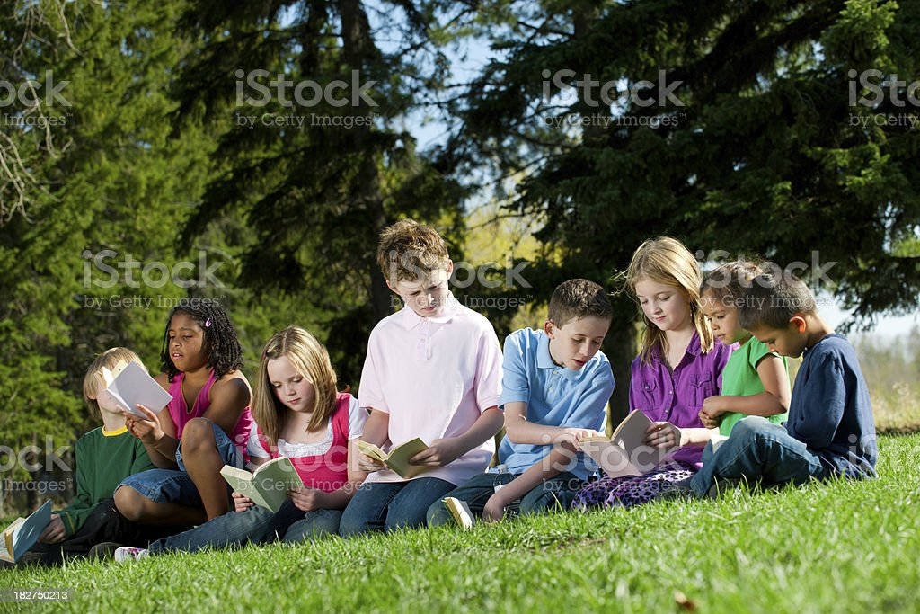 Read-a-thon royalty-free stock photo