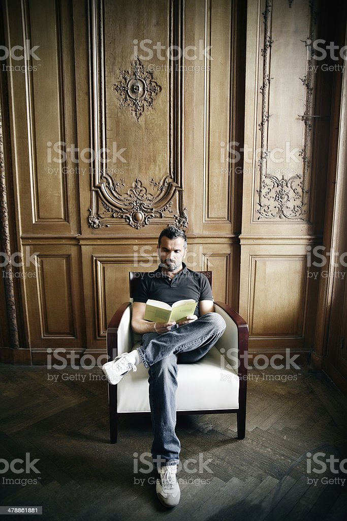 Reader royalty-free stock photo