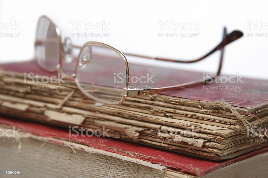 reading books close up royalty-free stock photo