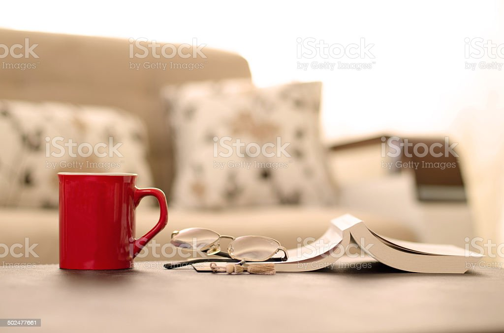 Reading Break - Relax time stock photo