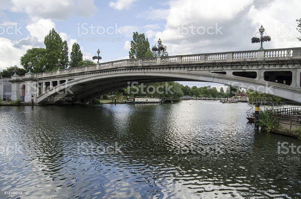 Reading Bridge stock photo