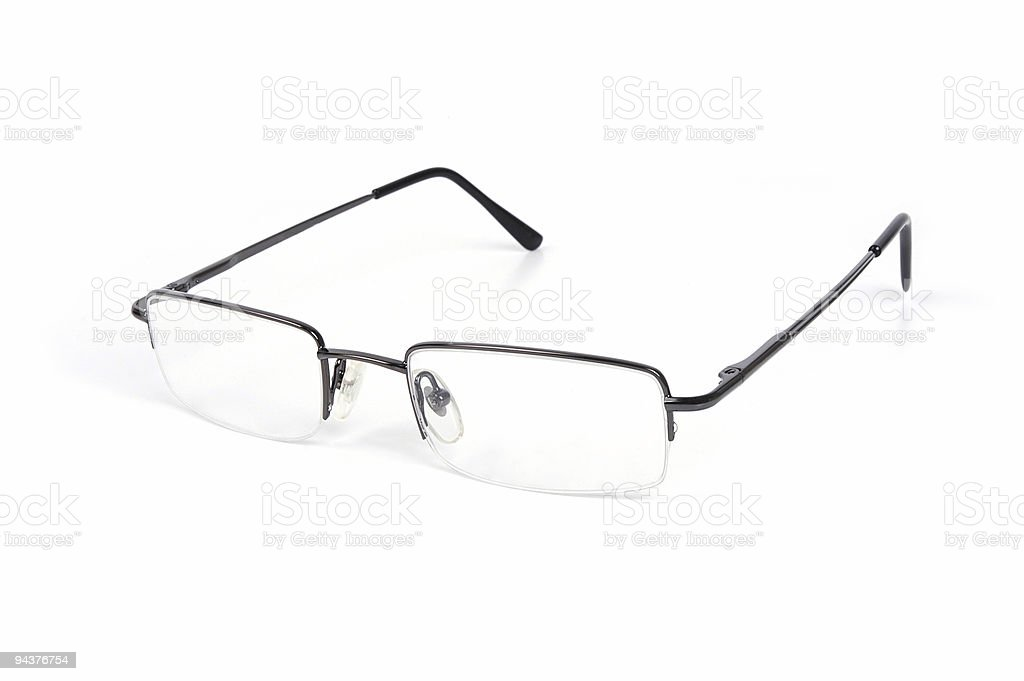Reading Eyewear royalty-free stock photo