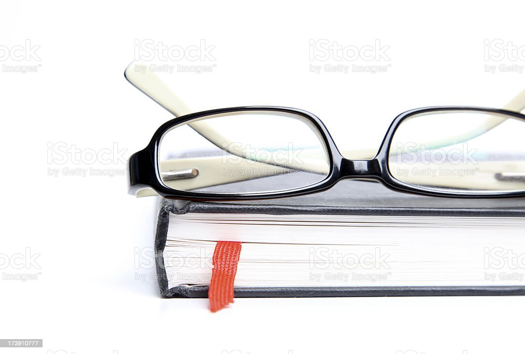 Reading Glasses royalty-free stock photo