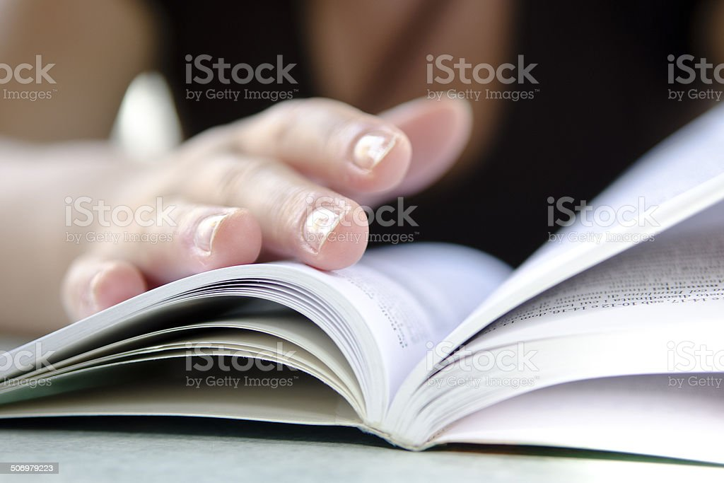 Reading Guide stock photo