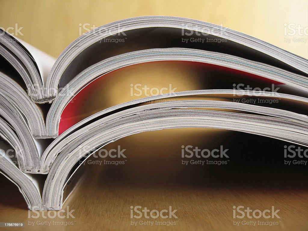Reading Materials 5 stock photo