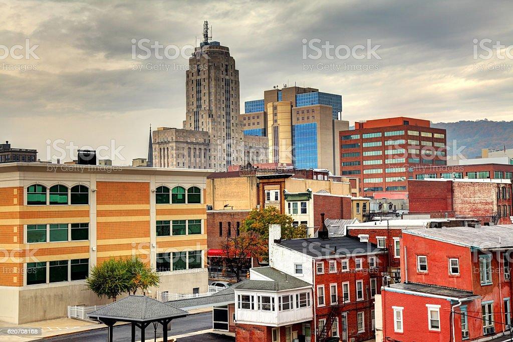 Reading, Pennsylvania stock photo