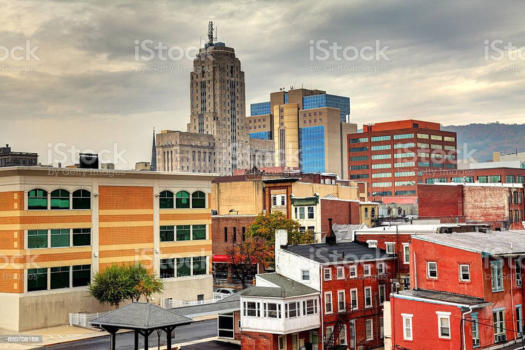 Reading, Pennsylvania stock photo