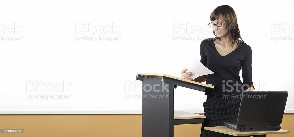 Lecture royalty-free stock photo