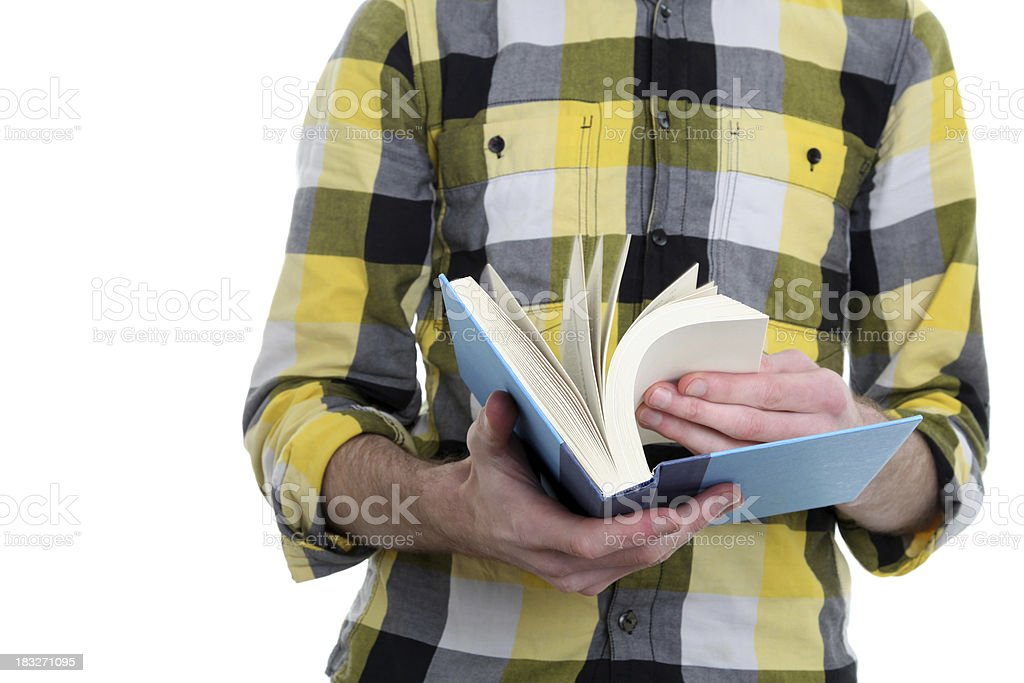 Reading royalty-free stock photo
