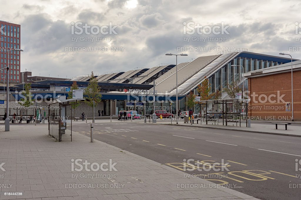 Reading railway station in Berkshire/UK stock photo