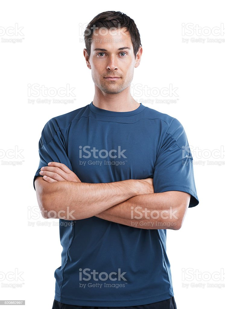 Ready for a good workout stock photo
