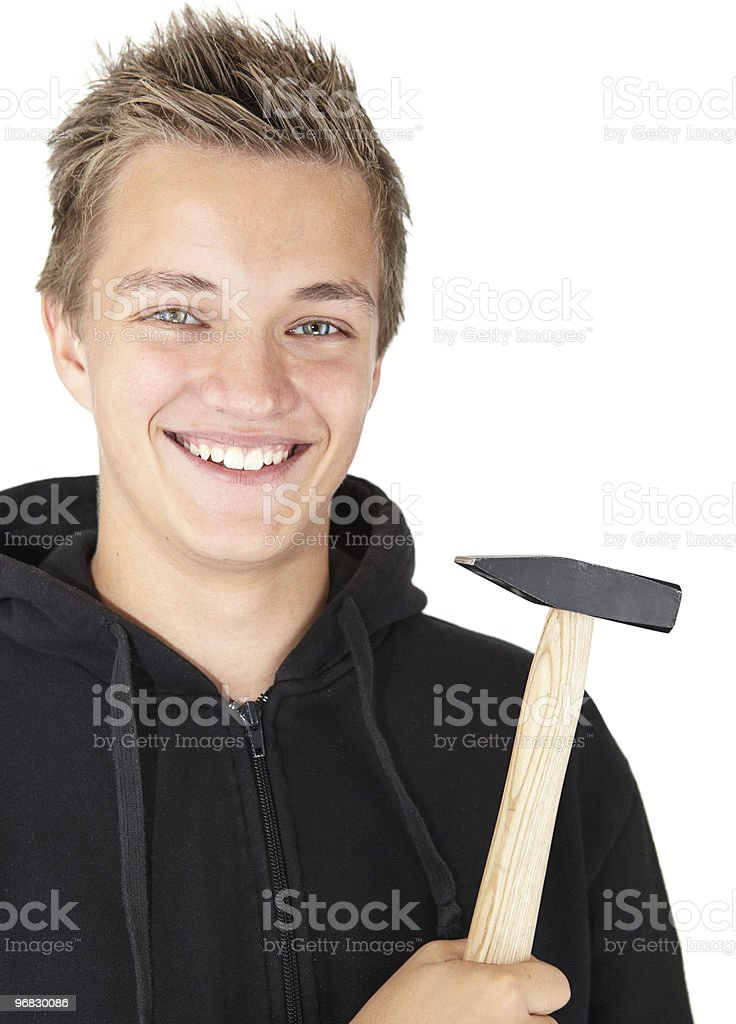 Ready for a job royalty-free stock photo