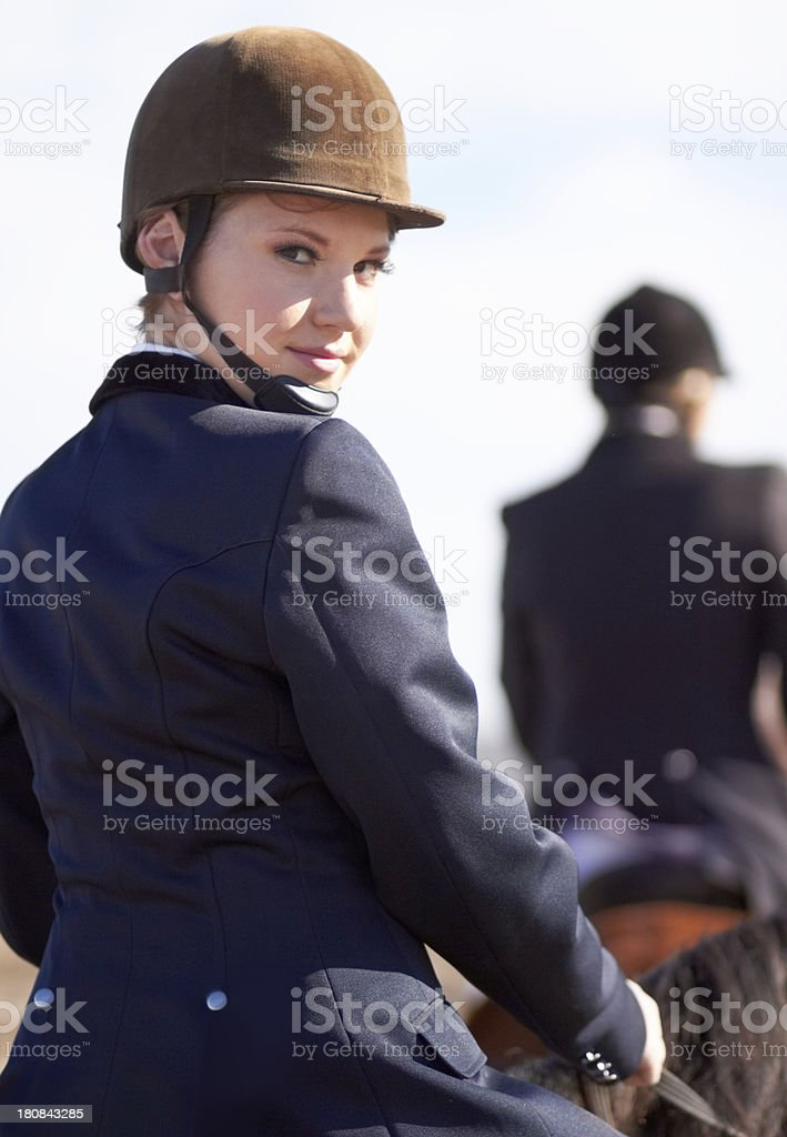 Ready for a long ride royalty-free stock photo