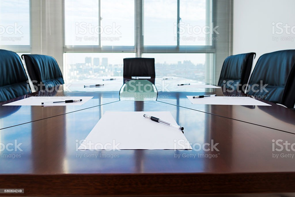 ready for a meeting stock photo