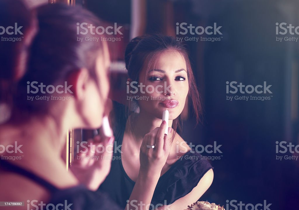 Ready for a night out royalty-free stock photo