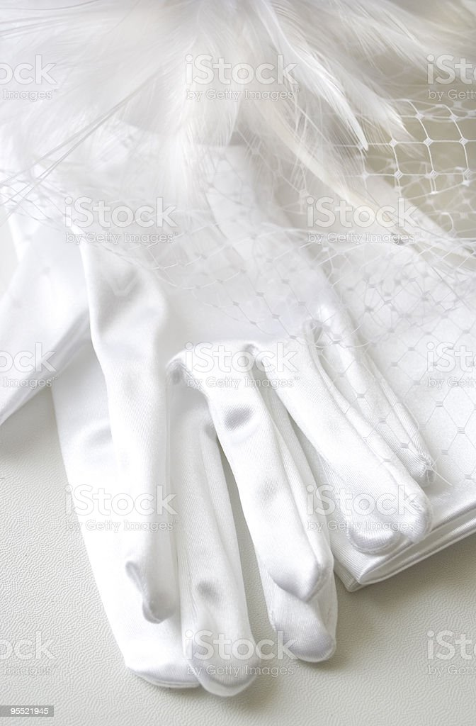 Ready for a wedding royalty-free stock photo