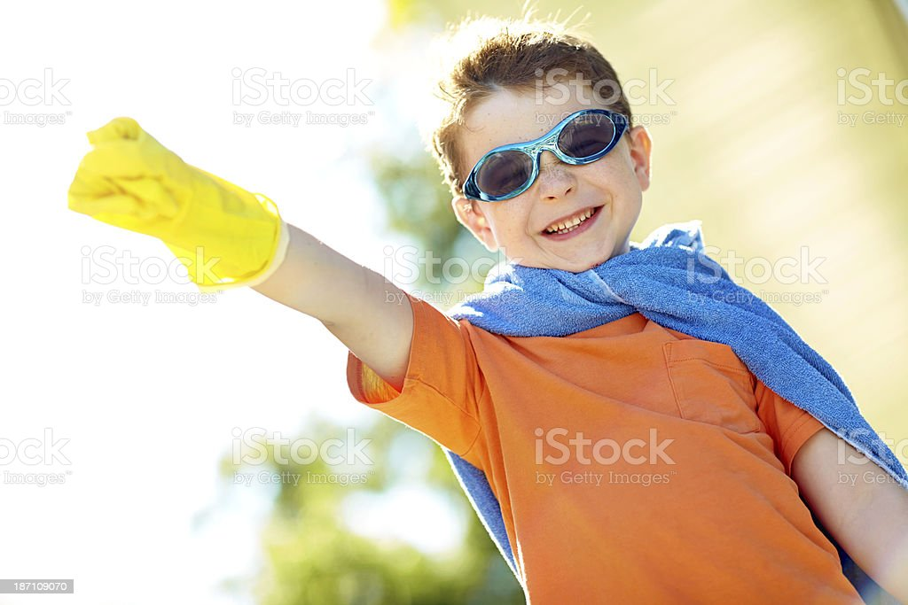 Ready for action royalty-free stock photo