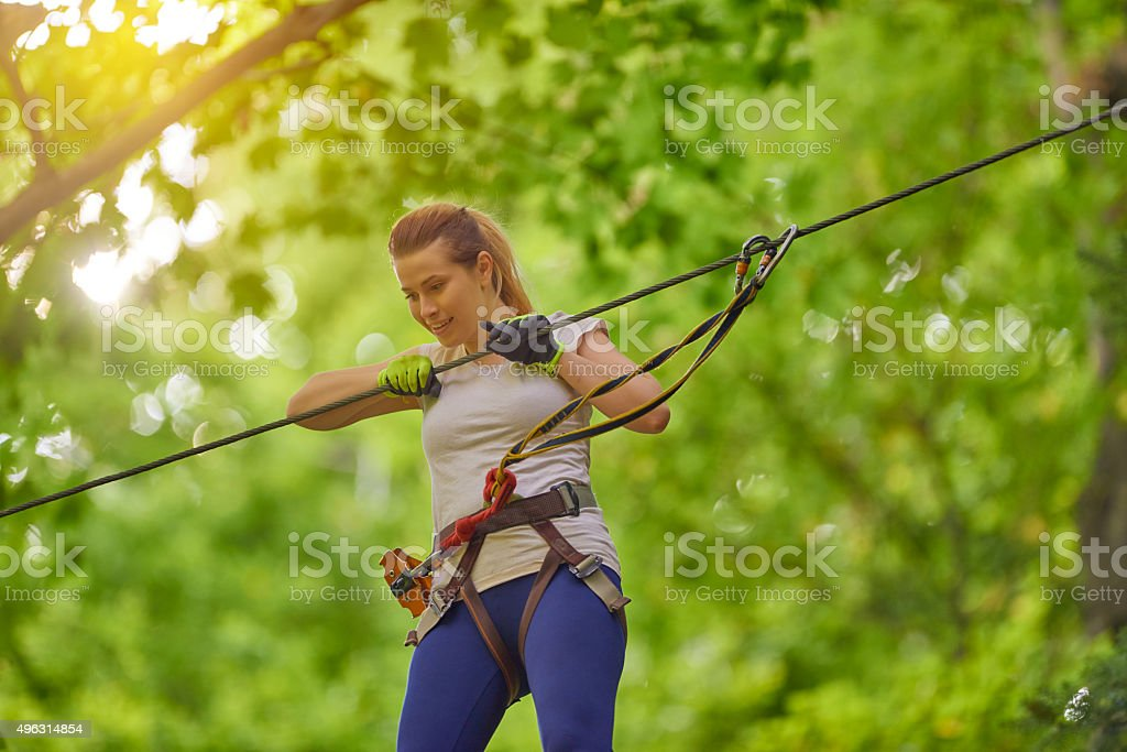 ready for adventure stock photo